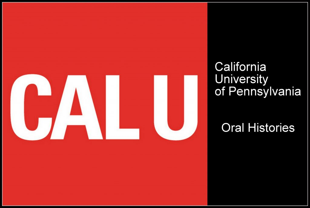 California University of Pennsylvania: Community Collection Oral Histories