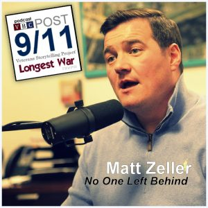 Episode 9 | Matt Zeller | No One Left Behind (part 1)