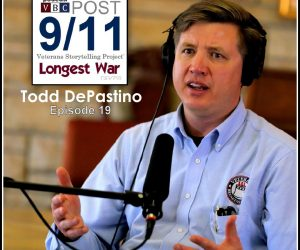 Longest War: The Post-9/11 Veterans Podcast – Ep19 – Todd DePastino