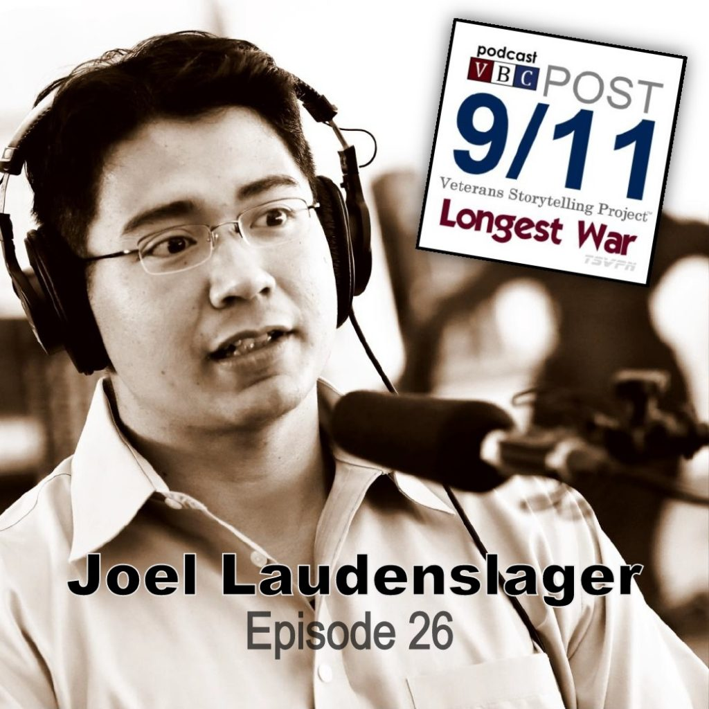Episode 26 | Joel Laudenslager | A Reasonably Odd Background