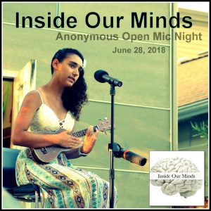Inside Our Minds: Anonymous Open Mic, Featuring Writing Away The Stigma