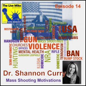 The Live Mike Podcast (Ep14): Mass Shooting Motivations