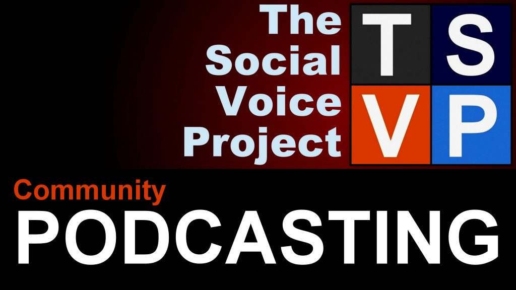 TSVP Community Podcasting Logo - 2020
