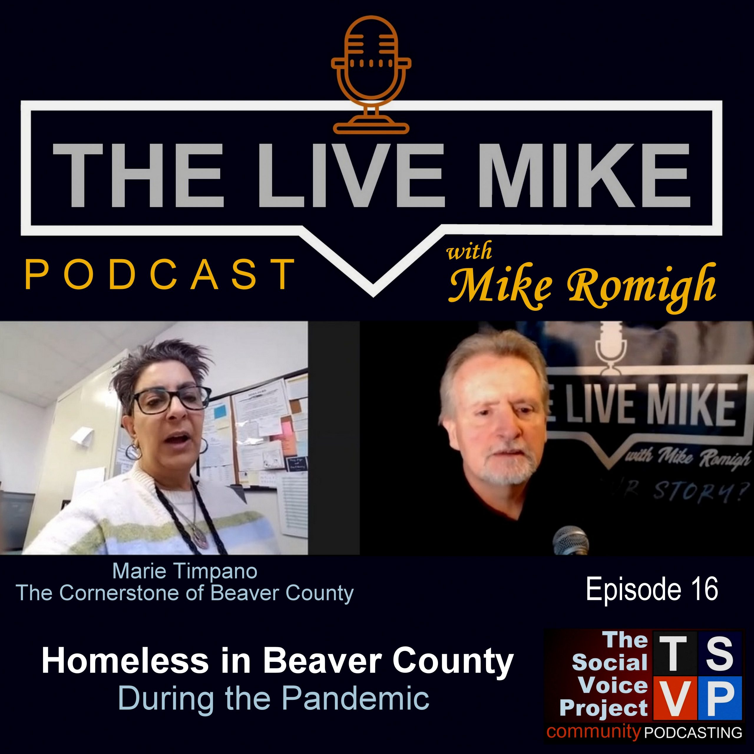 The Live Mike Podcast (Ep16): Marie Timpano