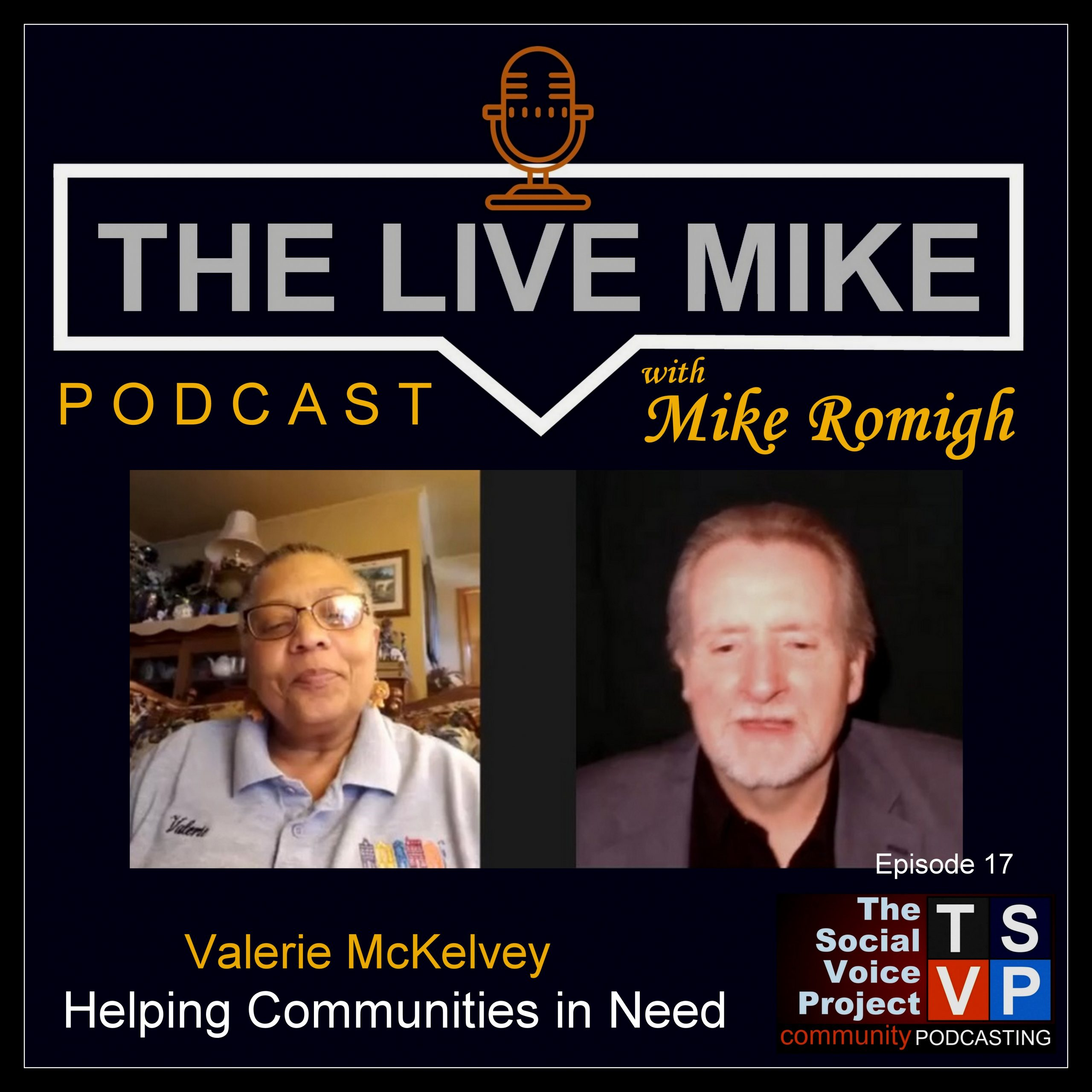 The Live Mike Podcast (Ep17): Valerie McKelvey