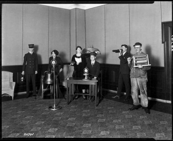 CBC Radio Foley Artistsca.1940s